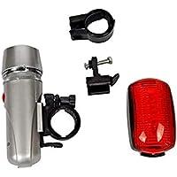 Lanterna Farol Led Bicicleta Bike + Sinalizador Pisca Seguro