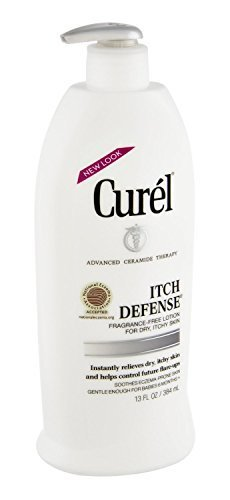 Cheap Curel Itch Defense Lotion 13 Ounce Pump (384ml) (3 Pack)