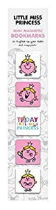 Mr. Men and Little Miss Mini-Magnetic Bookmarks - Little Miss Princess