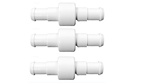 3) Polaris D20 Swimming Pool Cleaner 180 280 380 Hose Ball Bearing Swivels D-20 (Feed Polaris 380)
