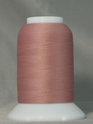 Yli Serger Thread (YLI Woolly Nylon Serger Thread 1000 Meters (Old Rose))