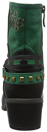 Blue Bootees Short 07 Laura Lined Women's and Aline Boots Shaft Vita Bleu Warm 4qPnPRw6Z