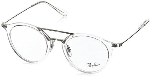 Ray-Ban RX7097 Eyeglasses White Trasparent - White Eyeglasses Ray Ban