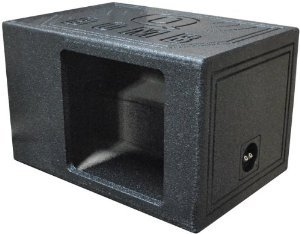 """Qpower Single 12"""" Bomb Box Vented Square hole - QBOMB12VLSINGSQ"""