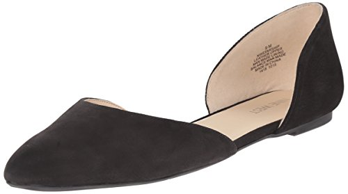 Image of Nine West Women's Starship Nubuck D'Orsay Flat
