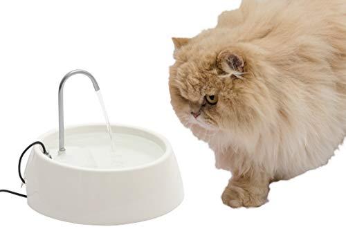 Fonte para Gatos Aqua Mini Bivolt Branca Amicus
