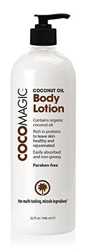 (CocoMagic Organic Coconut Oil Body Lotion, 32 OZ)