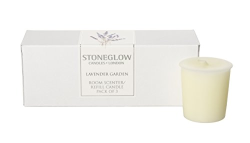 (Botanicals Pack of 3 Lavender Garden Natural Wax Candle Refills)
