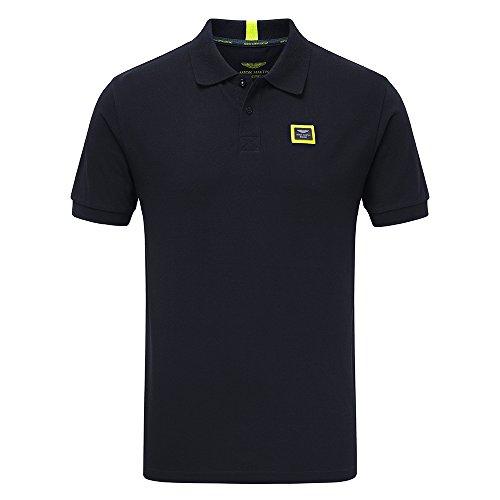 (Aston Martin Racing New! 2018 Team Mens Travel Polo Shirt Navy Size XS-XXXL)