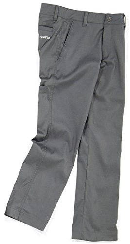 Garb Boys Bubba Performance Pants Charcoal Xx-Large Teen (Ages: 13-14) by Garb