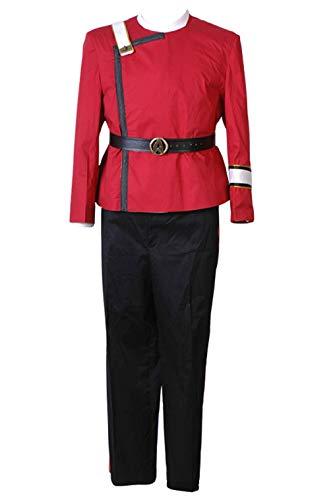 Wolfbar Men's Wrath Of Khan Kirk Spock Uniform Halloween Costume -