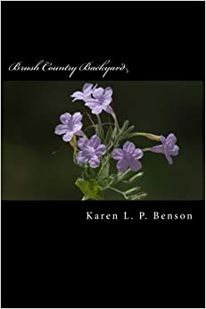 Brush Country Backyard: A Naturalist's Journey of Discovery and Learning in South Texas by Karen L. P. Benson (2013-06-25)