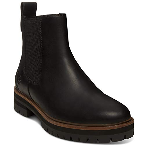 Jet London Black Square Boots Timberland Mincio Chelse wtqHdRR17