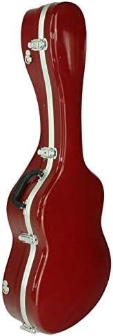 Estuche ABS para Guitarra Clásica, Cibeles (Rojo Brillante): Amazon.es: Instrumentos musicales