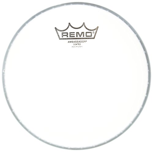 Ambassador Coated White Drum Head - Remo BA0108JP 8