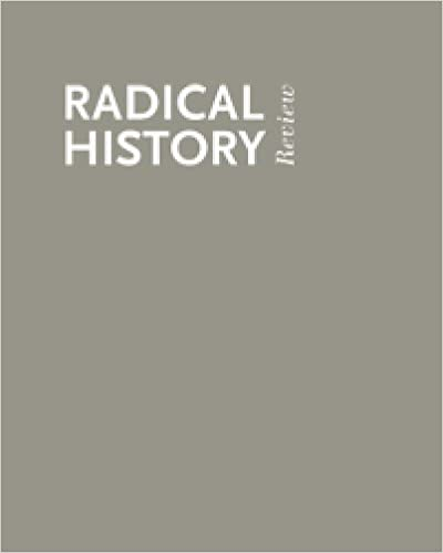 Book Disability and History (Radical History Review, Winter 2006)