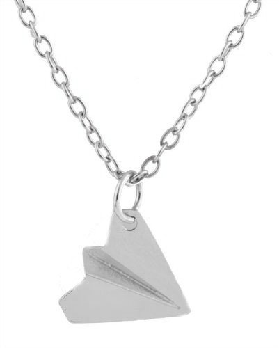 One Direction Harry Styles Paper Airplane Necklace Charm Infinity Necklace Forever