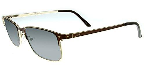 Aloha Eyewear Tek Spex 1013 Unisex RX-Able Reader Sunglasses with Progressive Polarized Lens (Demi Clear +2.00) by Aloha Eyewear