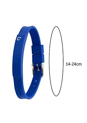 Zenturio Limited Colur Up Navy Blue Edition Exclusive Magnet/ion/Health  Bracelet – TÜV Rheinland Germany Certified – for Your Health and Wellbeing  -