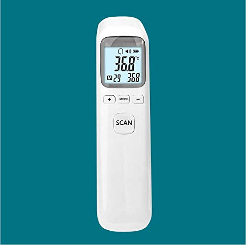 Forehead and Ear Thermometer, Baby Thermometer for Fever Clinical Digital Infrared Thermometer for Surface Body with LCD Display for Baby Kids Adult Home Use