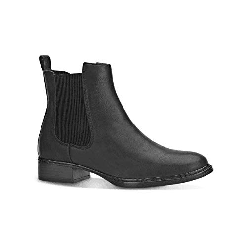 a1ffb42b99c8 Rieker 73454-00 Ladies Leather Chelsea Boots Black 41  Amazon.co.uk ...
