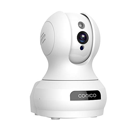 Wireless Camera, Conico IP Surveillance WiFi Camera with 720P Two Way Audio Motion Detection Nigth Vision for Home Security and Baby Pet Elder Monitor