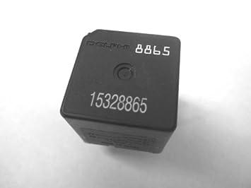 com genuine gm delphi pin fuse box relay  genuine gm delphi 5 pin fuse box relay 15328865 8865