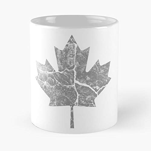 (Vintage Maple Rustic Canadian - Morning Coffee Mug Ceramic Novelty Holiday)