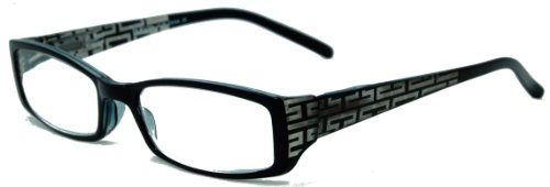 In Style Eyes® Super Strength II Reading Glasses. Look no more for the hard to find Fashionable Extra Strength Reading Glasses. These Reading Glasses Look Smart and will have you seeing clearly once again/black/5.00