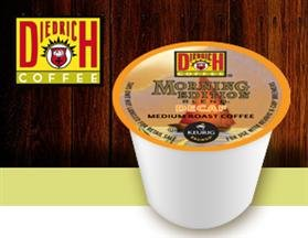 DIEDRICH MORNING EDITION DECAF BLEND COFFEE 96 K CUPS by Diedrich Coffee