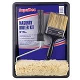Masonary Paint Roller Kit with Brush