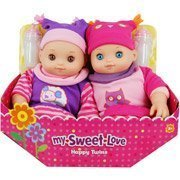 amazon com my sweet love happy twins baby doll set toys games