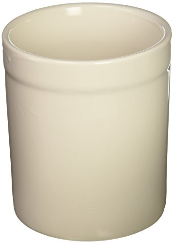 Fox Run 3950 Utensil Holder, White - Run Ceramic Fox