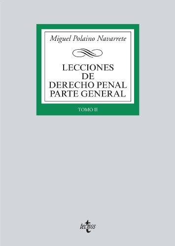 Descargar Libro Lecciones De Derecho Penal Parte General Miguel Polaino Navarrete