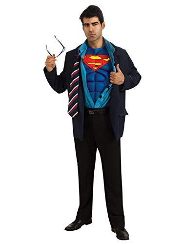 Clark Kent Superman Costume - Standard - Chest Size 44 -