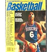 Street and Smith's Official College, Pro, and Prep Yearbook 1977-78 Basketball Julius Erving Cover