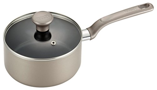 Safe Sauce (T-fal C50824 Excite Nonstick Thermo-Spot Dishwasher Safe Oven Safe Sauce Pan Cookware, 3-Quart, Gold)