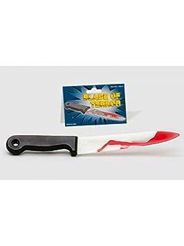 DISBACANAL Cuchillo con Sangre Halloween: Amazon.es ...