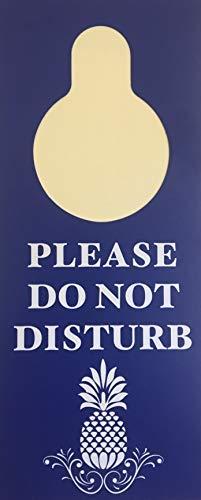 Becks Printing Please Do Not Disturb/Make Up Room Door Hanger, 3.5