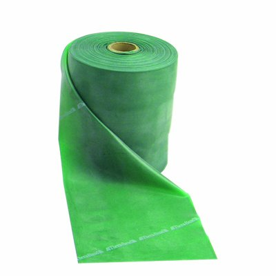 DSS Thera-Band Latex Free Exercise Band (50 yard roll, Green) from DSS