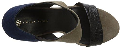 Black Turk Crocodile Slate Los Suede Altos Women's Suede Indigo Trina Dress vqdzdn