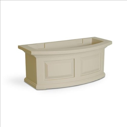 Mayne Nantucket 2 ft. Window Box in Espresso (Clay)