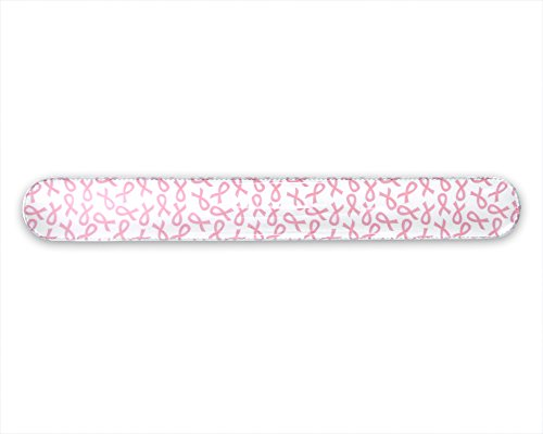 Slap Bracelet with Pink Ribbons (Relay For Life Merchandise)