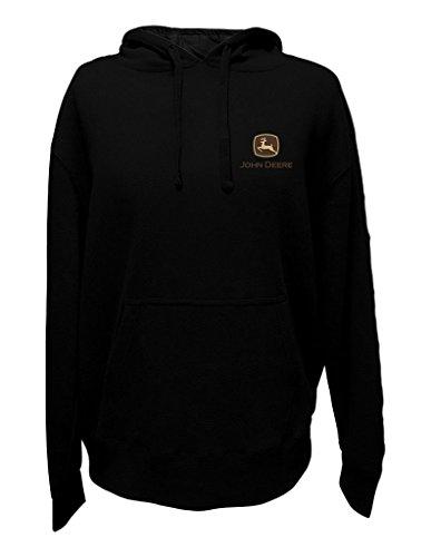 John Deere Western Sweatshirt Men Western Ranch Hood XL Black 13021742 (John Deere Mens Sweatshirt)