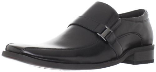 Steve Madden Men's Kickbak Slip-OnBlack Leather9.5 M US