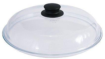 El vidrio templado Pyrex tapa para ollas, sartenes y cacerolas (32 cm): Amazon.es: Hogar