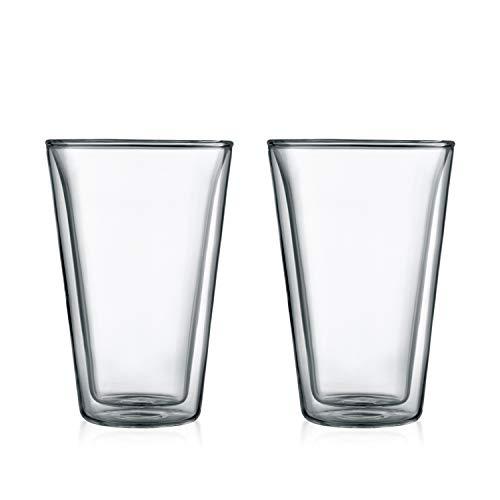 Bodum Canteen Double Wall Cooler/Pint Glass, Set of 2