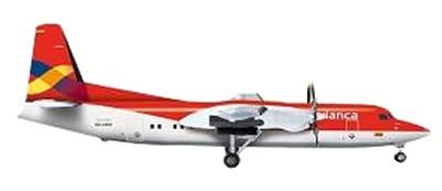 herpa Wings 1/200 Fokker 50 Avianca Colombia Airlines (japan import)