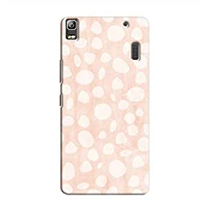 Cover It Up - Pebble Print Pink A7000 / K3 Note Hard Case