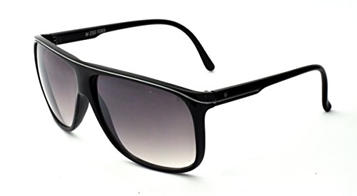 Zoo York Men's Rectangle Sunglasses, Black Frame, APG Smoke Lens, - York Zoo Eyewear